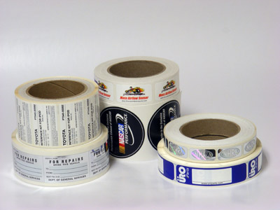 Custom Automotive Label Printing - AAA Label Factory
