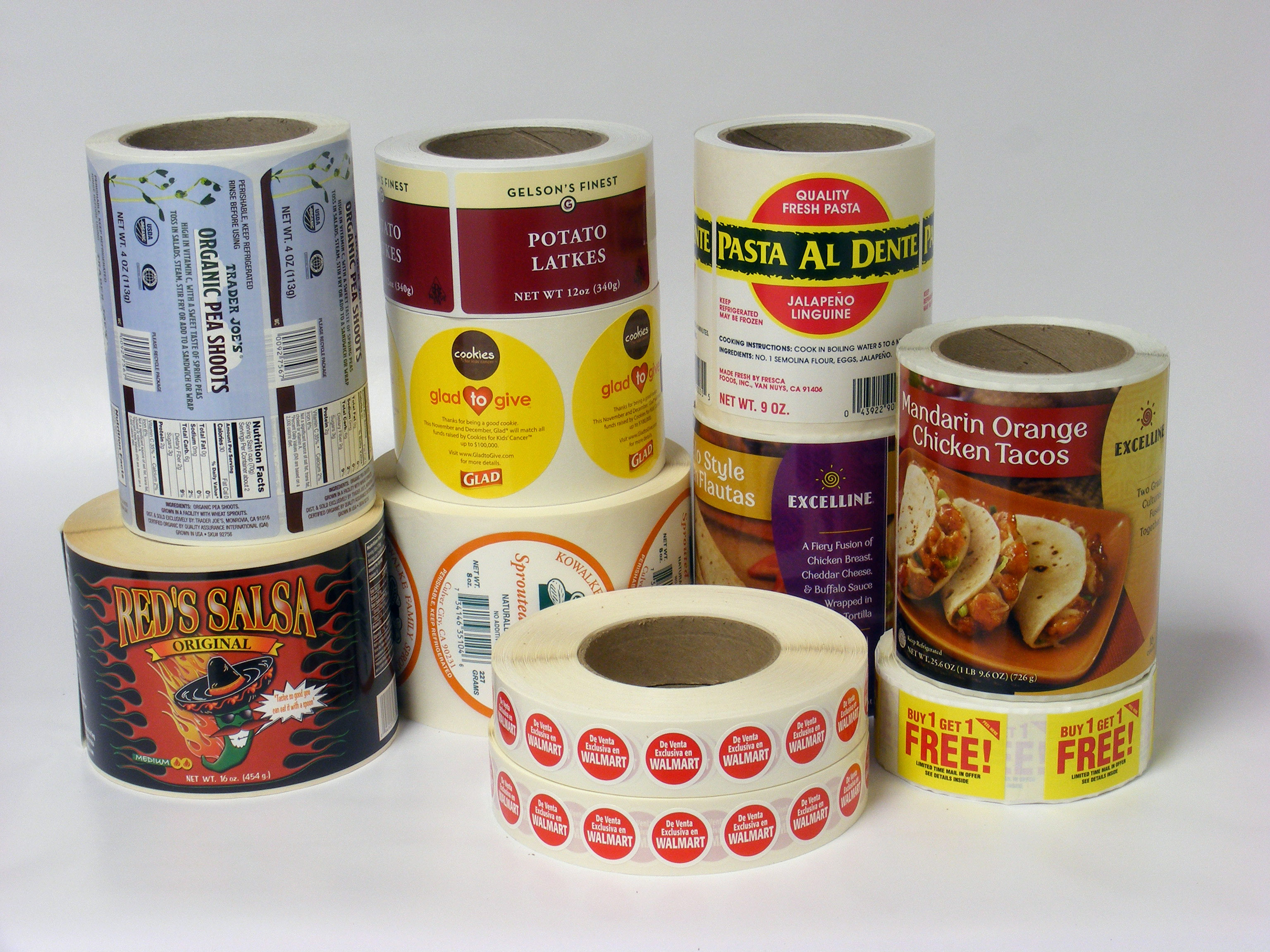 Custom Food and Beverage Label Printing - AAA Label Factory