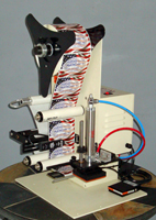 Tamp Label Dispenser - AAA Label Factory