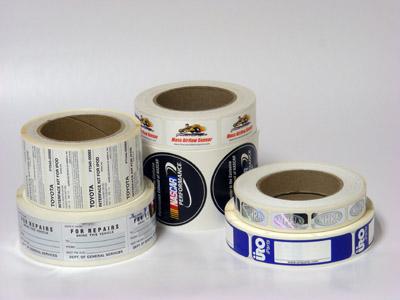 Custom Automotive Label Printing - AAA Label Factory