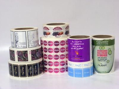 Custom Cosmetic Label Printing - AAA Label Factory