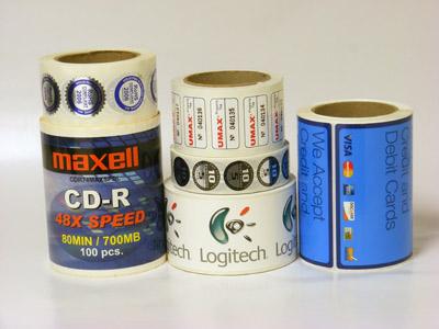 Custom Electronics Label Printing - AAA Label Factory