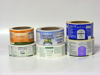 Custom Nutraceutical Label Printing - AAA Label Factory